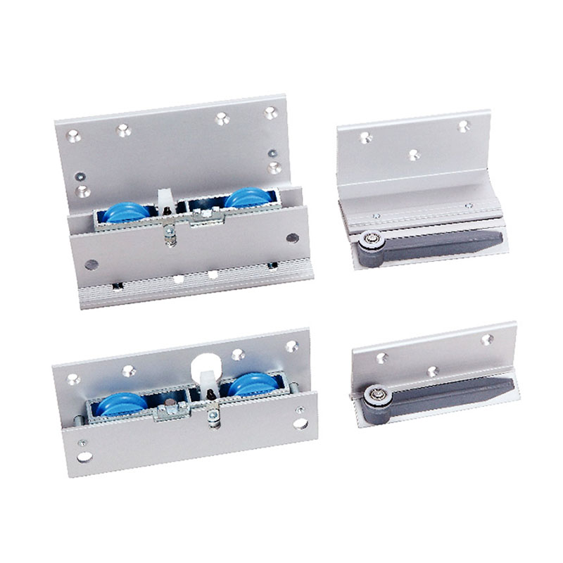 75KG Soft-closing sliding door fittings diy wardrobe sliding doors