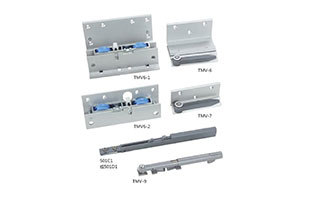 Furniture fittings 80kg sliding door accessories sliding barn door guide